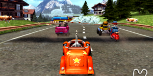 Spiel - Madagascar 3 Race Across Europe