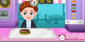 Spiel - Baby Hamburger Shop