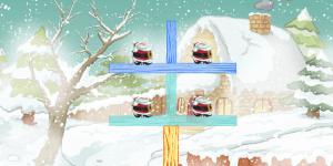 Spiel - Santa Slice