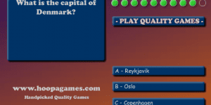 Geography Quiz - Europe