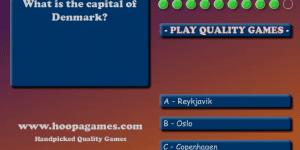 Spiel - Geography Quiz - Europe