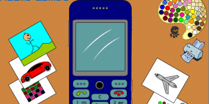 Spiel - Mobile Phone Coloring