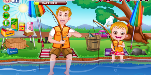 Spiel - Baby Hazel Fishing Time