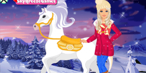 Spiel - Barbie's Winter Pony
