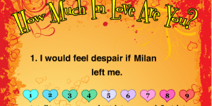 Spiel - How much in love are you?