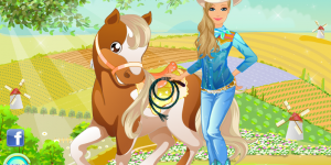 Spiel - Barbie's Country Horse