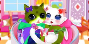 Spiel - Heart Cats Dress Up