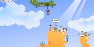 Spiel - Bungee Rescue