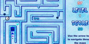 Spiel - Abominaball Snow Maze