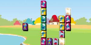 Spiel - The Smurfs Mahjong