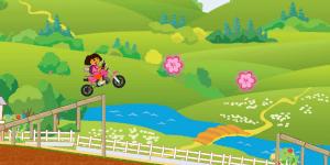 Spiel - Dora Stunts Ride