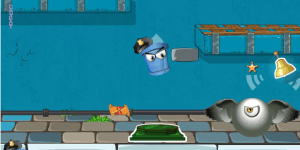 Spiel - Bucket Cop
