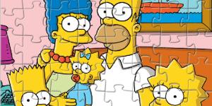 Spiel - Simpsons Jigsaw