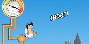 Spiel - Rocket Toilet