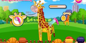 Spiel - Cute Giraffe Care