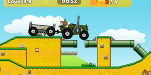 Spiel - Tom And Jerry Tractor
