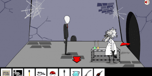 Spiel - Slender Man Saw Game