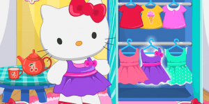 Spiel - Hello Kitty Laundry Day