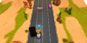 Spiel - Hit Dodge Zbang