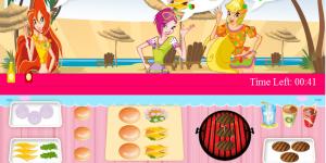 Spiel - Winx Burger Shop