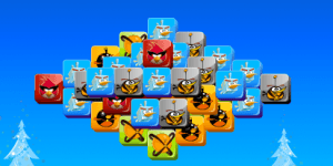Spiel - Angry Birds Mahjong