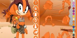 Spiel - Sonic Boom Sticks The Badger Dress Up