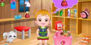 Spiel - Baby Hazel Tomato Farming