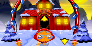 Spiel - Monkey GO Happy North Pole