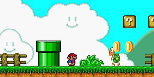 Spiel - Mario Forever Flash