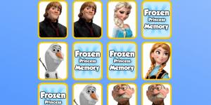 Spiel - Frozen Princess Memory