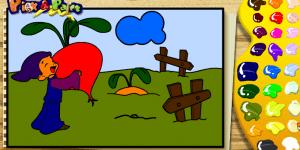 Spiel - Pick & Paint