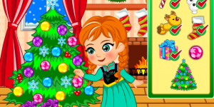 Spiel - Princess Anna Christmas Slacking