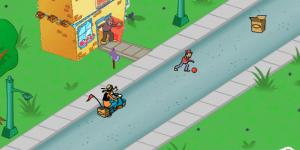 Spiel - Goofy's Hot Dog Drop