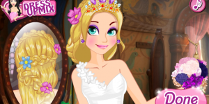 Spiel - Rapunzel Wedding Braids School
