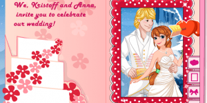 Spiel - Princess Anna Wedding Invitation