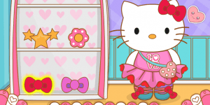 Spiel - Hello Kitty Goes To School