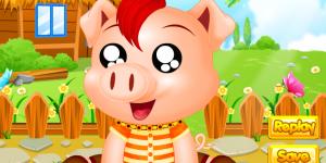 Spiel - Baby Pig Salon
