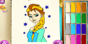 Spiel - Frozen Coloring Book