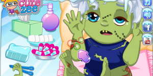 Spiel - Elsa's Zombie Baby