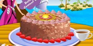 Spiel - Barbie Coconut Cake Deco