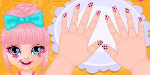 Spiel - Baby Barbie Crazy Nails