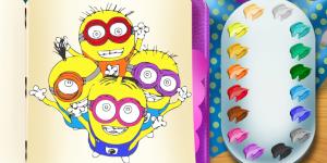 Spiel - Minions Coloring Book