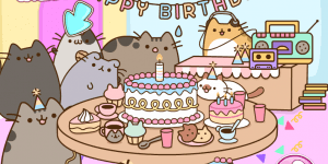Spiel - Pusheen's B-day Party