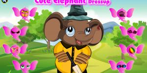 Spiel - Cute Elephant Dressup