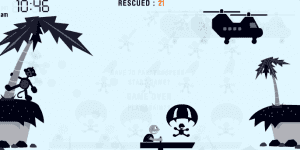 Spiel - Parachute Panic