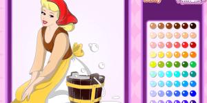 Spiel - Cinderella Coloring