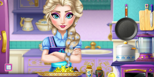 Spiel - Elsa Real Cooking