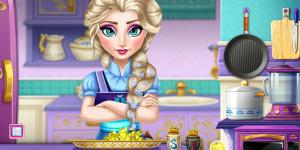 Spiel - Elsa Real Cooking