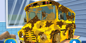 Spiel - School Bus Car Wash