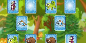 Spiel - Kids Animals Memory